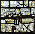 Cirencester, St John the Baptist church, medieval stained glass (44419780145).jpg