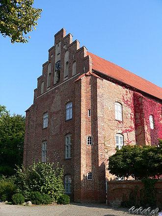 Cismar Abbey - Cismar Abbey Church: the west front