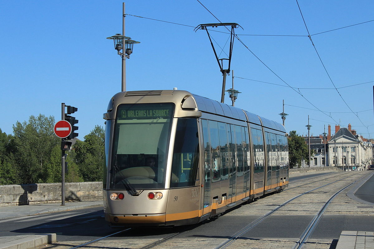 Tramway d 39 orl ans wikip dia - Horaire tram orleans ligne a ...