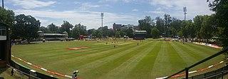 City Oval multi-purpose stadium in Pietermaritzburg, South Africa