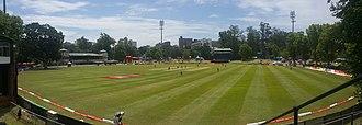 City Oval - Image: City Oval Pietermaritzburg