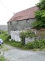 Civil War Cannon used as a gatepost at Kerrowdhoo Farm - geograph.org.uk - 61205.jpg