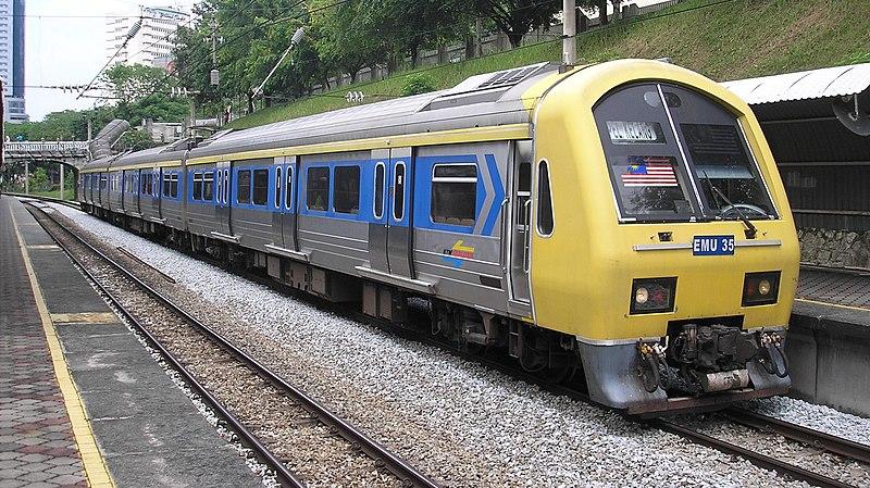 File:Class 83 KTM Komuter train, Kuala Lumpur.jpg
