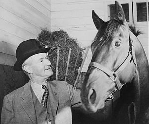 Clem McCarthy - McCarthy in 1948.