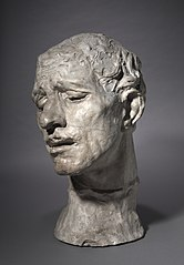 Heroic Head of Pierre de Wissant, One of the Burghers of Calais