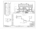 Clifford Miller House, State Route 23, Claverack, Columbia County, NY HABS NY,11-CLAV,2- (sheet 7 of 14).png