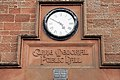 Clock on Lilliesleaf Village Hall - geograph.org.uk - 770155.jpg