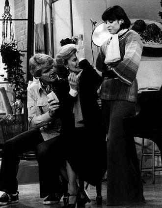 Liz Torres - (L-R) Richard Schaal, Cloris Leachman and Liz Torres in Phyllis (1975)