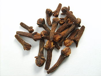 English: Cloves. Español: Clavos de olor, syzy...