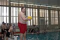 Coach Christopher M. Baker prepares to start a water polo tournament at Al Asad Air Base, Iraq, March 15, 2009 090315-M-KL291-018.jpg