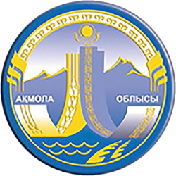 Coat of Arms of Aqmola Province Kz.png