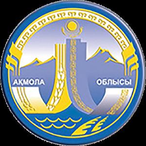 Akmola Region - Image: Coat of Arms of Aqmola Province Kz