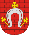 Coat of Arms of Drybin, Belarus.png