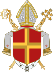Coat of arms of Archdiocese of Paderborn.png
