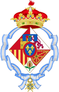 Coat of arms of Infanta Cristina of Spain, Duchess of Palma.svg