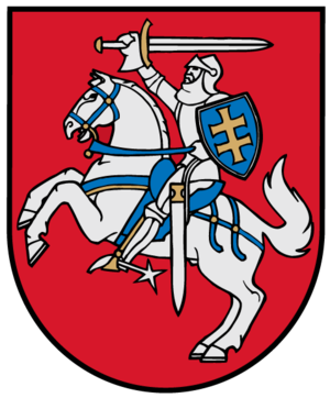 Vilna Governorate - Image: Coat of arms of Lithuania