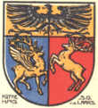Coat of arms of Maasbree.png