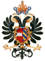 Coat of arms of Maximilian I, King of the Romans.png