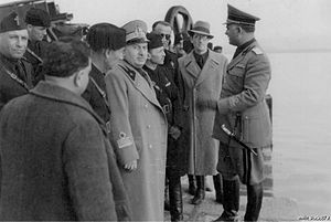 Giuseppe Cobolli Gigli -  Giuseppe Cobolli Gigli in Sardinia in 1938