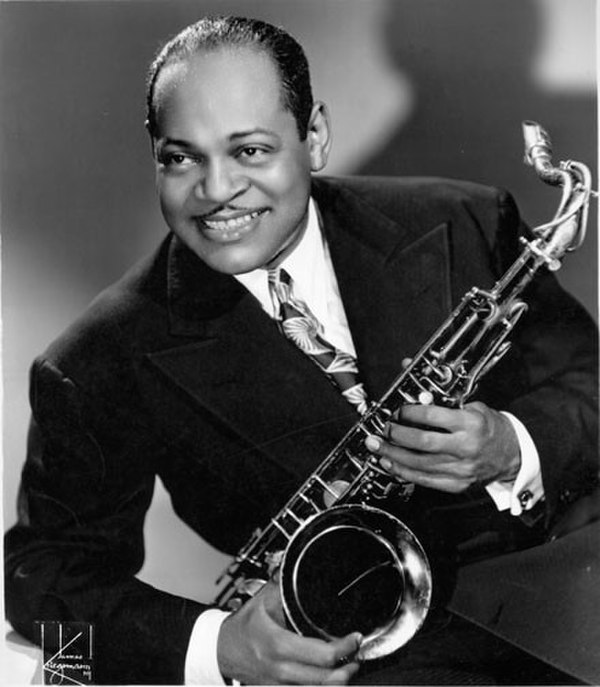 Photo Coleman Hawkins via Wikidata