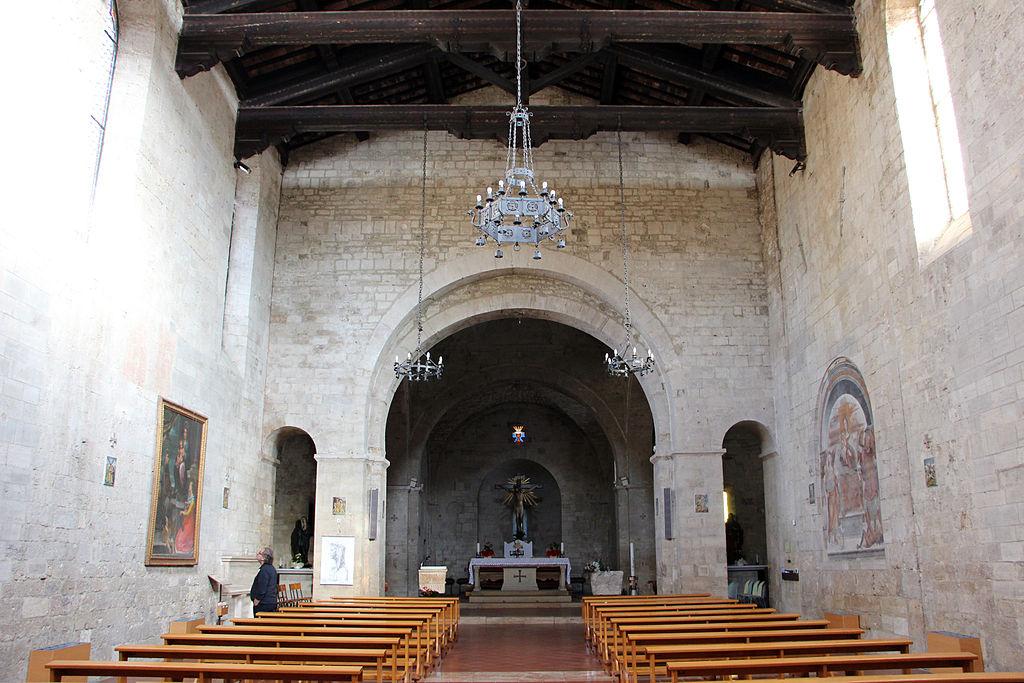 Collegiata di Sant'Agata (Asciano), interiore