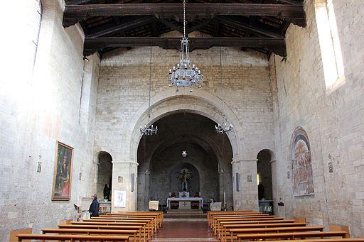 Collegiata di Sant'Agata (Asciano), int. 01