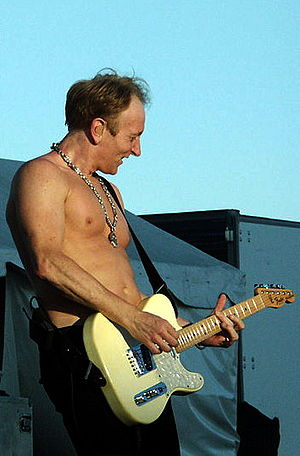 Phil Collen - Phil with Def Leppard on 26 July 2007.
