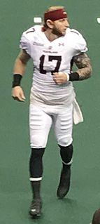Collin Taylor American arena football player