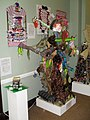 Colourful display within Worthing Museum and Art Centre - geograph.org.uk - 1717560.jpg
