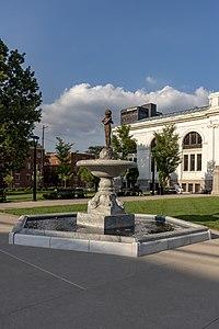 Columbus Metropolitan Library - Carnegie Plaza Fountain 1.jpg