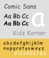 ComicSans sample.png