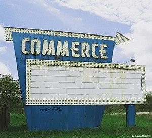 Commerce Township, Michigan - Commerce Township Drive Inn Landmark. Photo by Ben De Studios 2017©