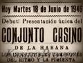 Conjunto Casino, propaganda teatral 1946.png