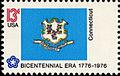 Connecticut Bicentennial 13c 1976 issue.jpg