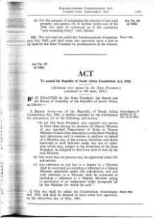 Constitution Amendment Act 1962.djvu
