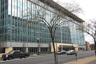 Constitution Center (Washington, D.C.) - West facade of Constitution Center, after its 2009 renovation.