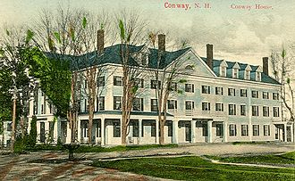 Conway, New Hampshire - Conway House c. 1910