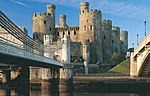 File:Conwy Castle - bridge view.jpg