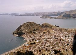 Copacabana peninsulae, Lake Titicaca