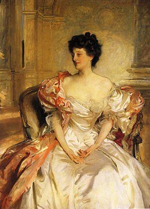 Henry Byng, 4th Earl of Strafford - Cora, Countess of Strafford, John Singer Sargent, 1908