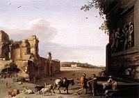 Cornelis van Poelenburch - Ruins of Ancient Rome - WGA18014.jpg
