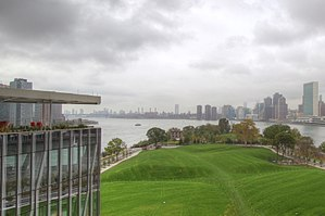 Cornell Tech - Part of the Cornell Tech site, as viewed from one of its buildings