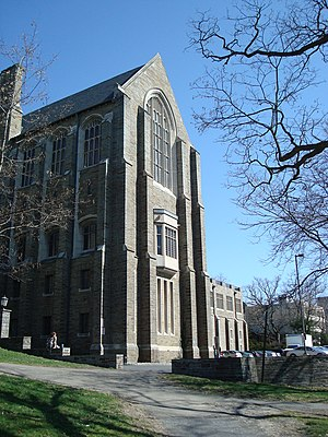 Dorothy Payne Whitney - Willard Straight Hall at Cornell, opened in 1925.