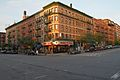 Corner of Amsterdam Ave and W 106th St, Manhattan, northeast view.jpg