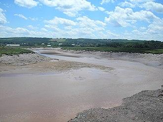 Cornwallis River - Cornwallis River near low tide.