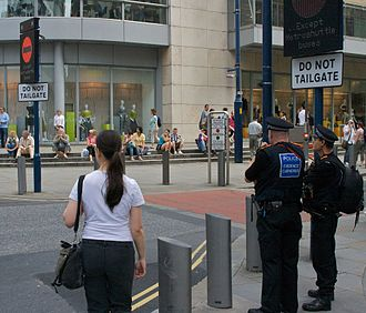 1996 Manchester bombing - New security safeguards were included in the redevelopment of the city centre including retractable bollards and pedestrianised streets.
