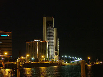 Corpus Christi, Texas - Downtown skyline