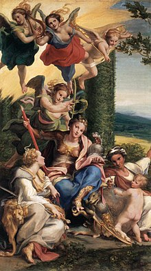 Allegory of Virtues, c. 1525-1530 (Source: Wikimedia)