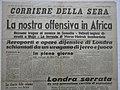Corriere Della Sera - 17 agosto 1940 - Offensiva in Africa - titolo.JPG