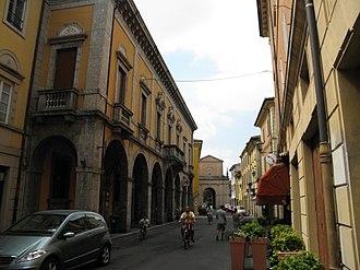 San Giovanni in Persiceto - Image: Corso Italia e Porta Vittoria (San Giovanni in Persiceto)